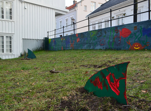 Bilder fra Fargepatruljen -Strygebolten i Lillesand.