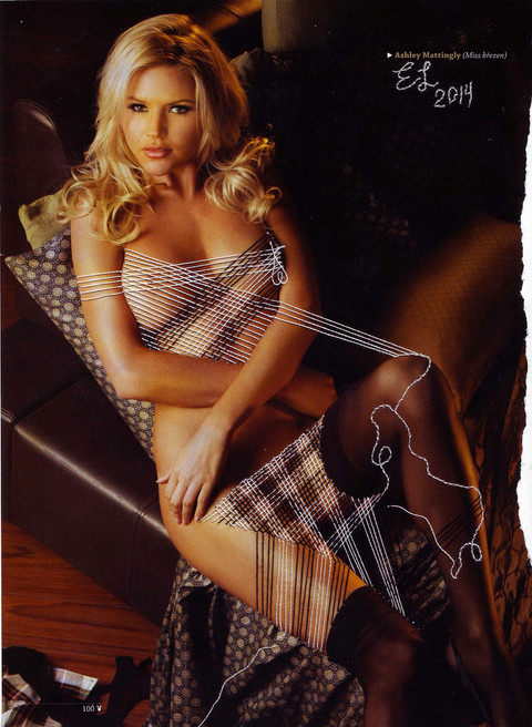 Ashley Mattingly. Page 100 ( Playboy)