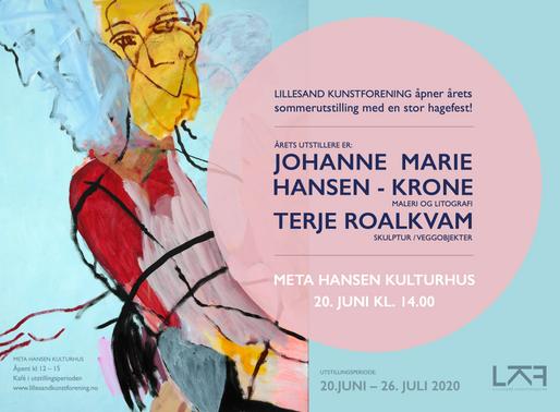 Sommerutstillingen 2020 20. juni – 26. juli