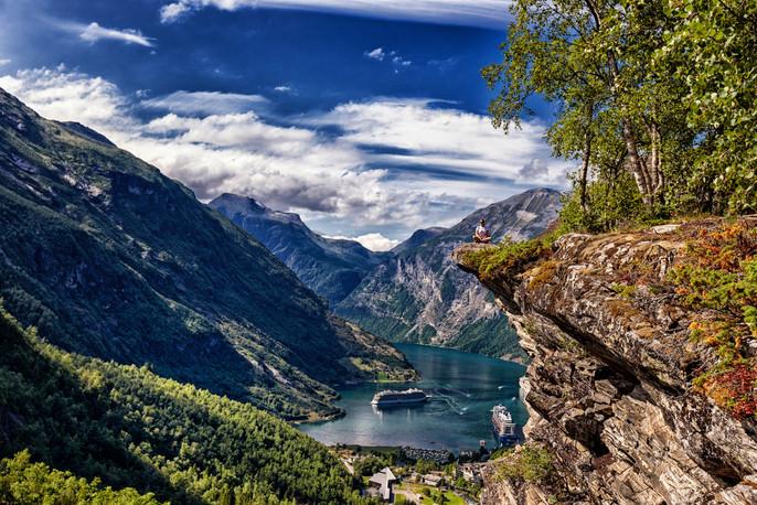 Geirangerfjorden, Vestlandet