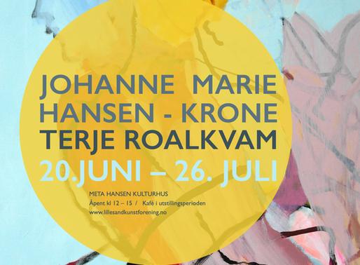 Johanne Marie Hansen - Krone Terje Roalkvam 20.juni – 26. Juli