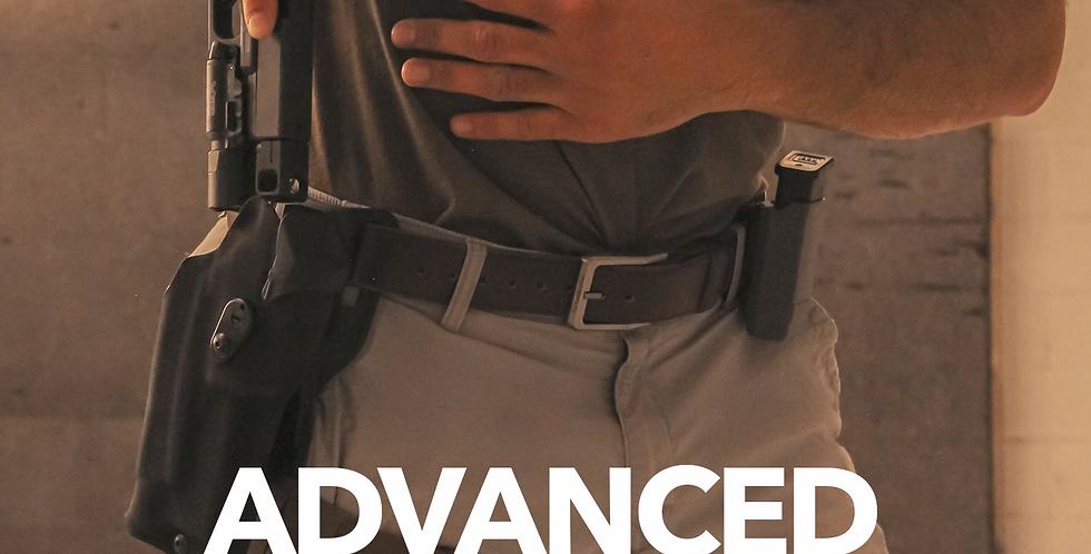 6/3&10 Advanced Handgun and Holster 6pm-8pm