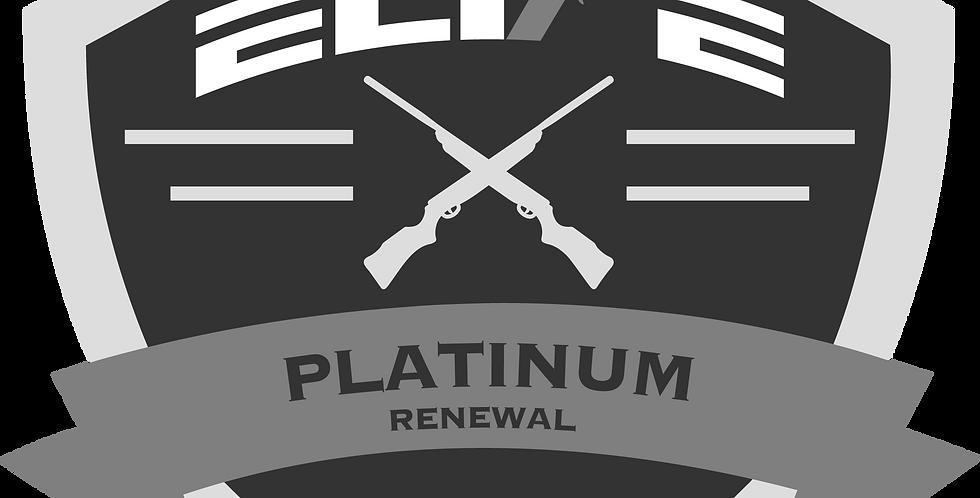Platinum Retired PSD Renewal