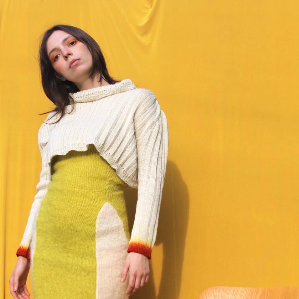 ELEANOR Tube Dress and Sweater Set