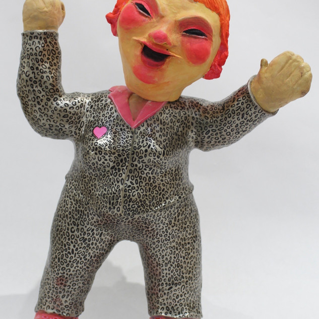 Leopard Bobble Head