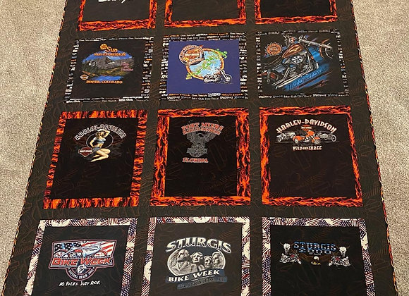 Raffle Tickets for Custom Harley Quilt! Drawing July 31, 2021