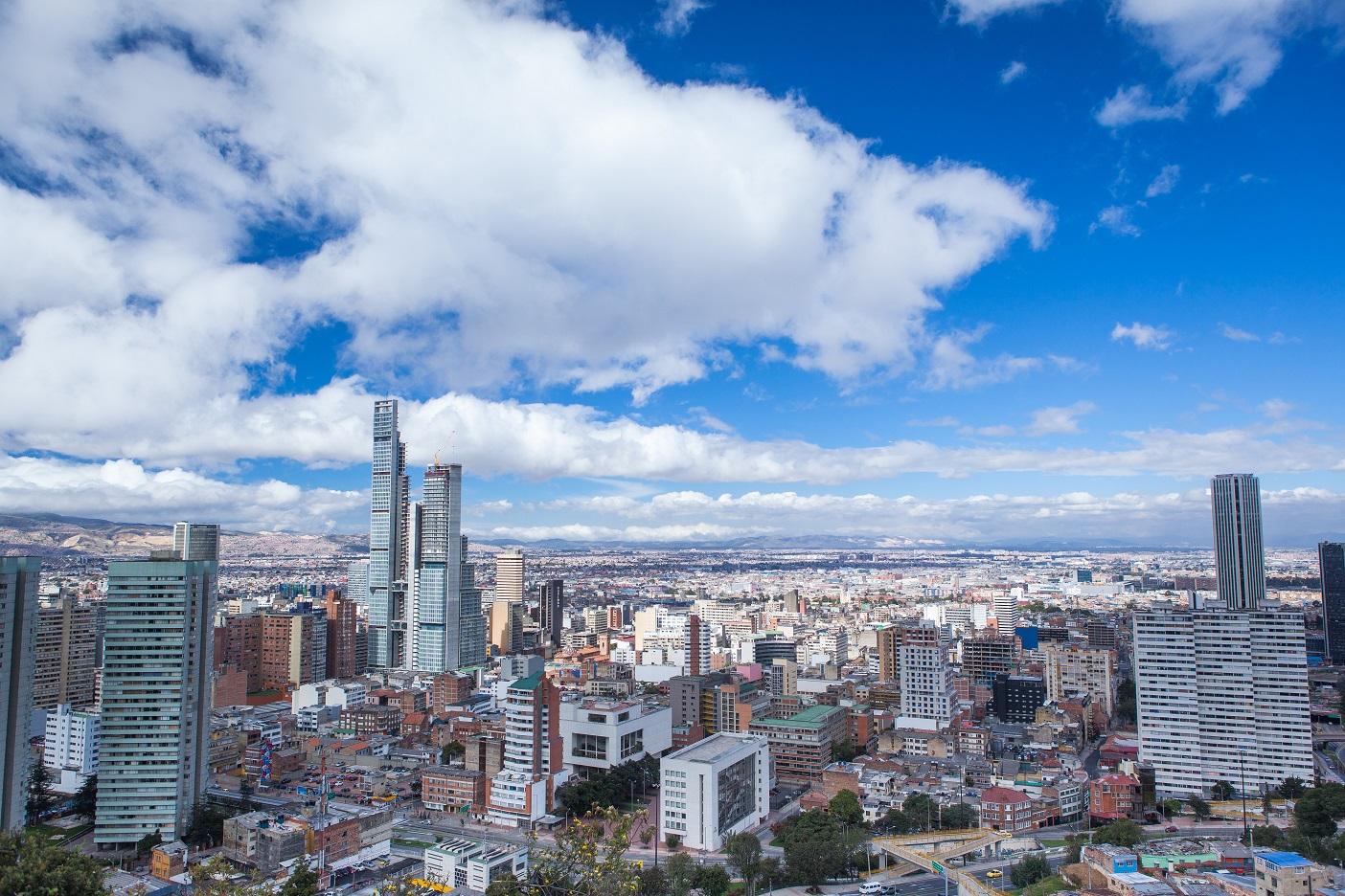 Vue, ville de Bogota