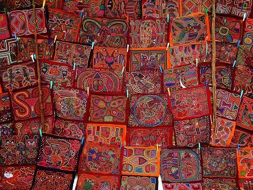 PANAMA Molas artisanat.jpg bis