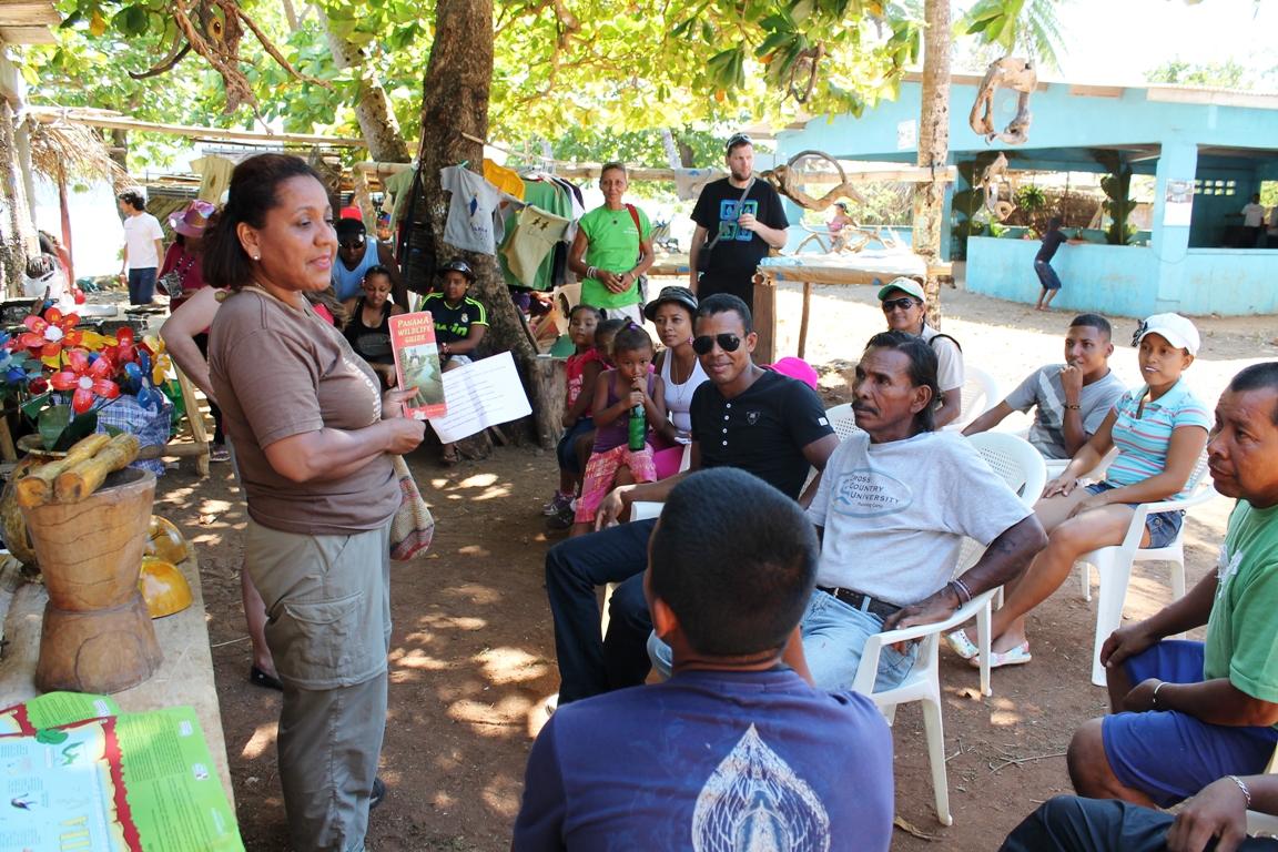 ECO FERIA GOBERNADORA TALLER GUIA TUCAYA PANAMA