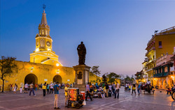 Carthagène, Place de l'horloge