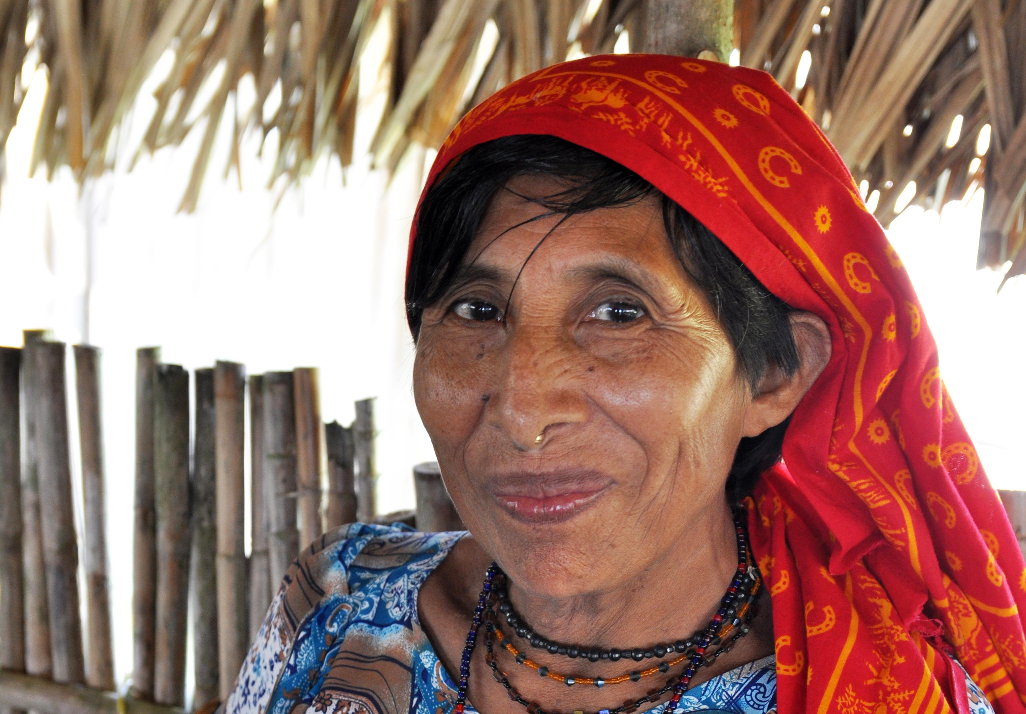 Femme Kuna, San Blas