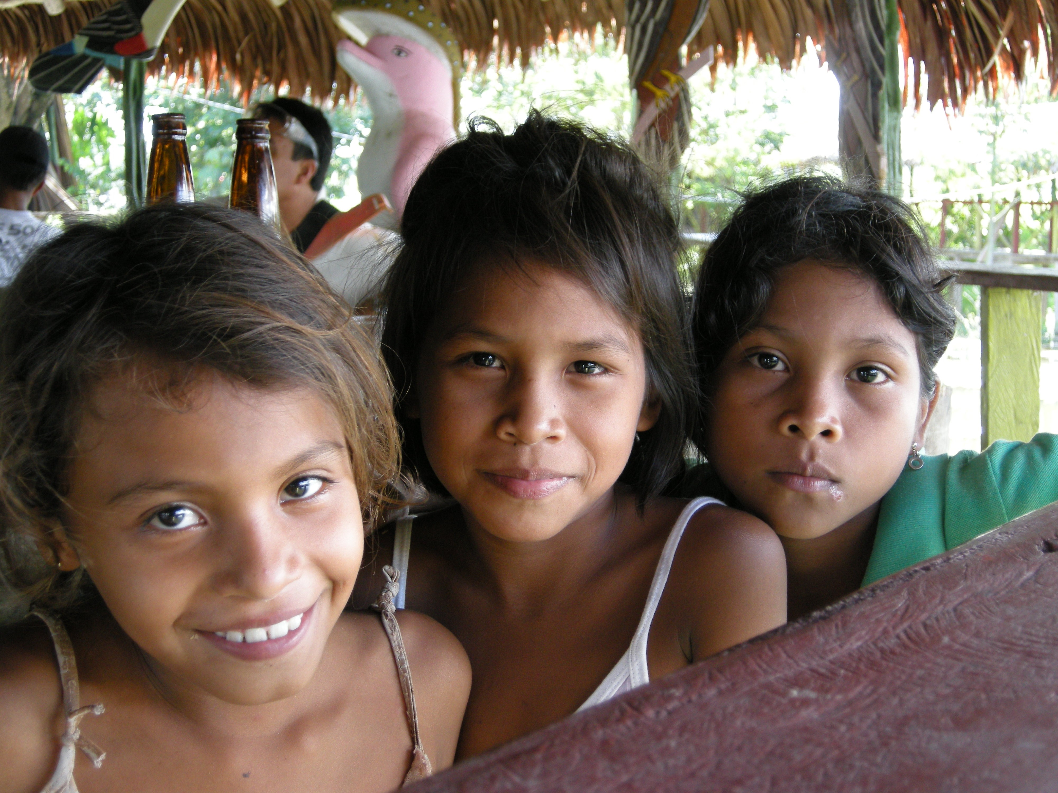 Portraits, Amazonie