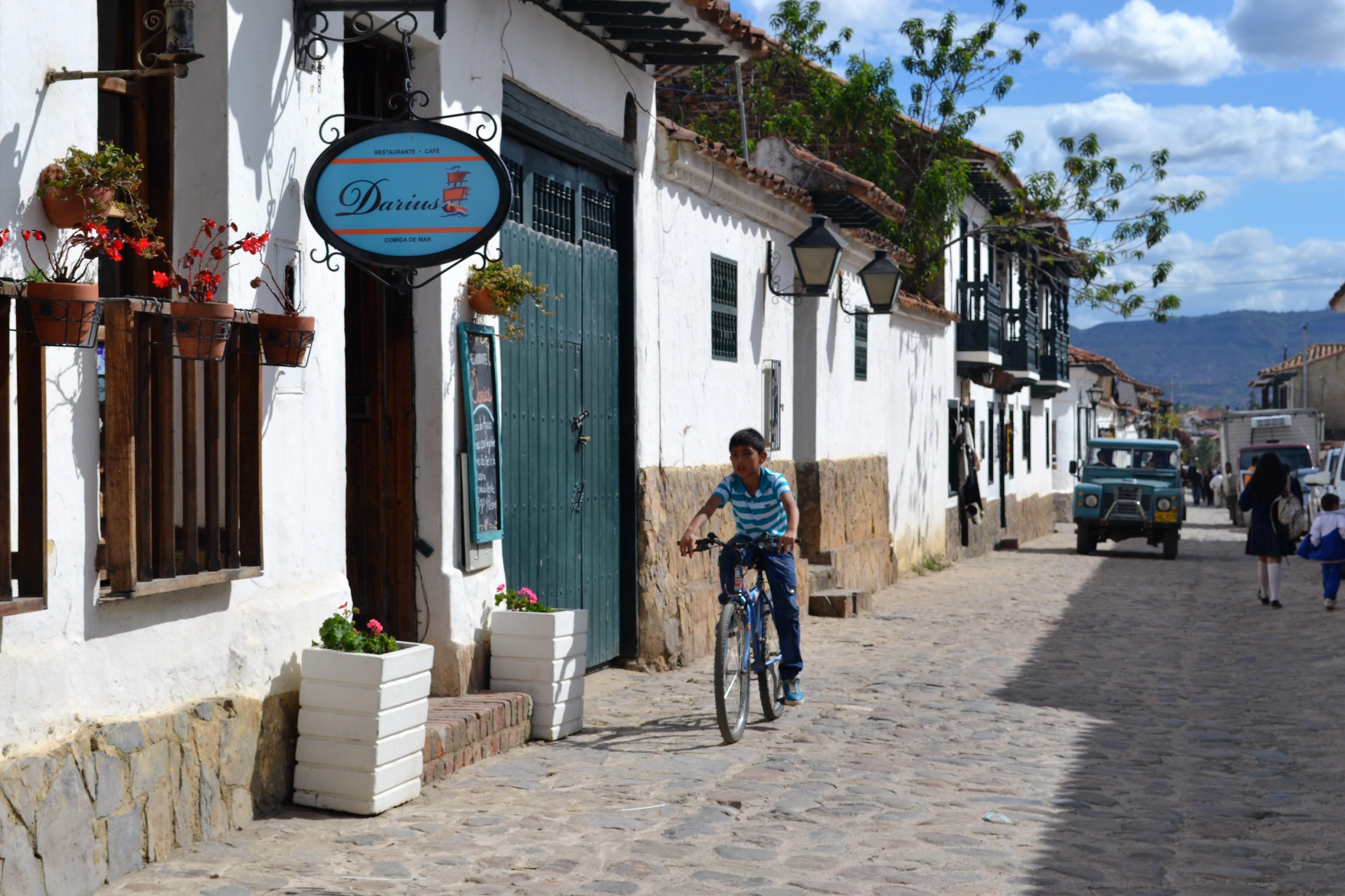 Villa de Leyva, rue