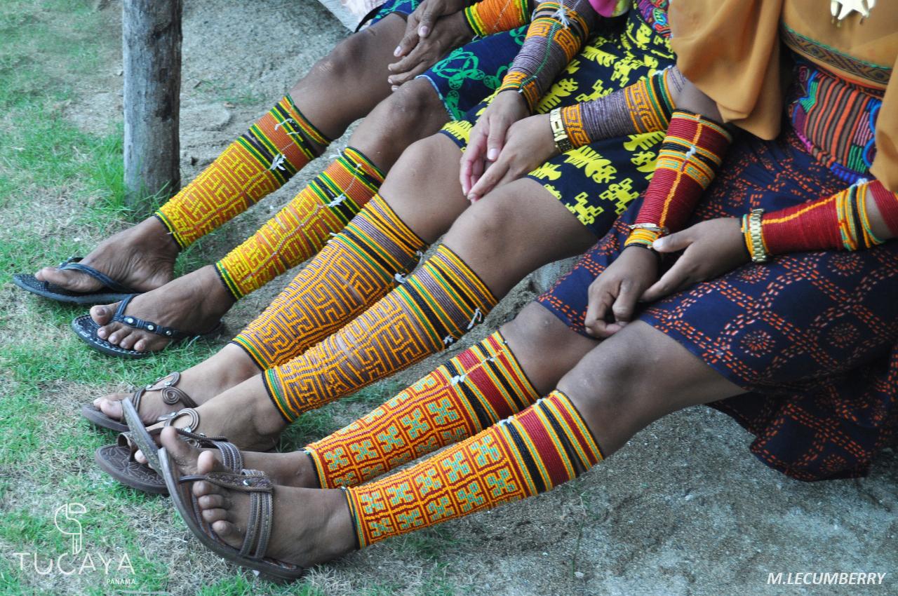 Bracelets traditionnels, San Blas
