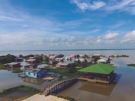 Nueva Venecia, un village colombien flottant dans la Ciénaga Grande.