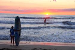 Sufeurs, plage de Tamarindo