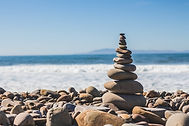 Mindfulness rocks on the beach for mindfulness therapy in westchester new york and greenwich connecticut and fort lauderdale florida and pennsylvania