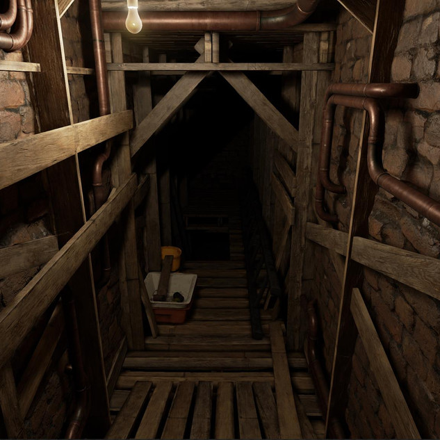 VR basement test