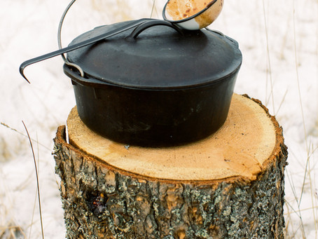 DUTCH OVEN COOKING: CASEY'S FOOL PROOF METHOD FOR THE FIRE PIT