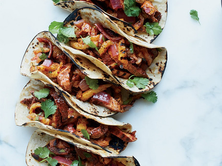 Cinco de Mayo: Slow Cooker Al Pastor Pork Tacos