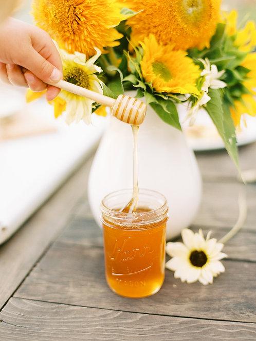 Unfiltered Northwest Montana Wildflower Honey