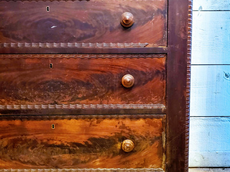 Home Stories: Kokoa Baldwin's Dresser and a Visit to the Conrad Mansion