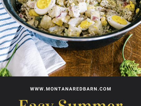 Easy Summer Potato Salad