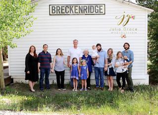 Breckenridge Family Reunion Photographer