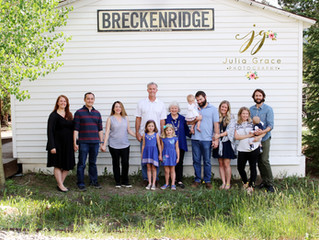 Breckenridge Family Reunion Photographer