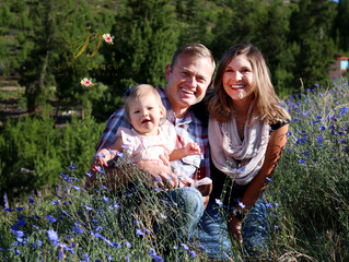 Colorado Wildflowers & The D Family | Sapphire Point