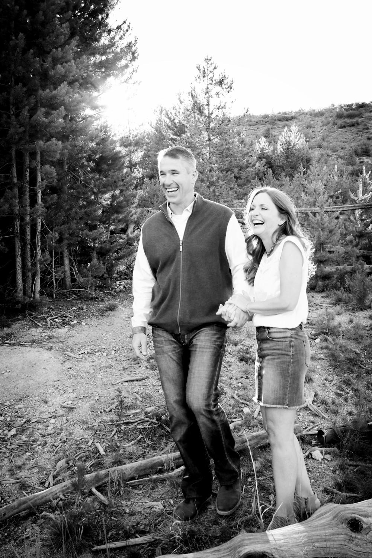 Sapphire Point Colorado engagement