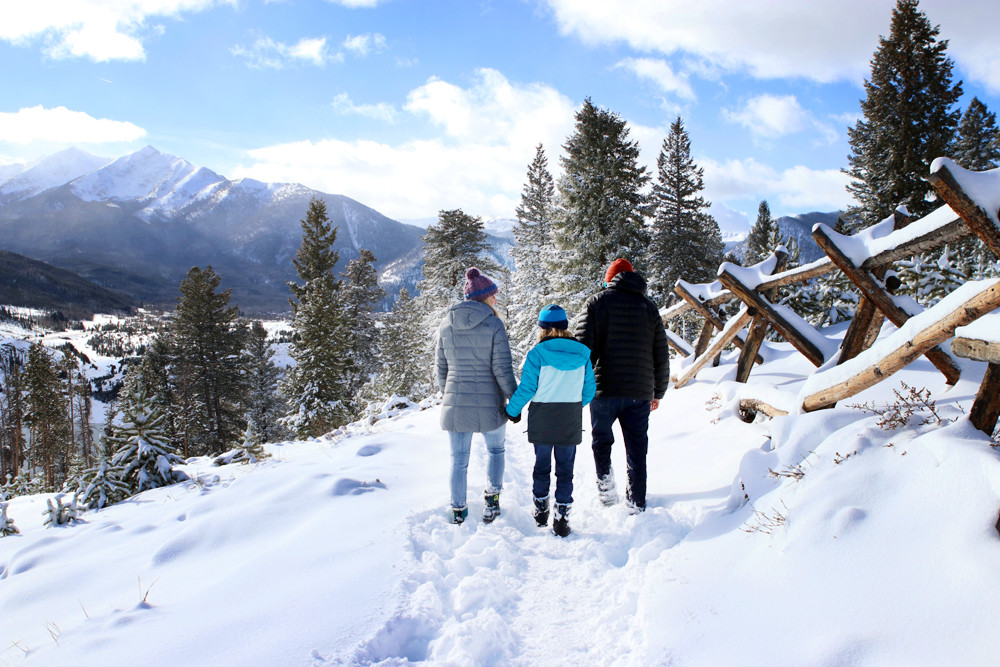Winter at Sapphire Point - Lake Dillon