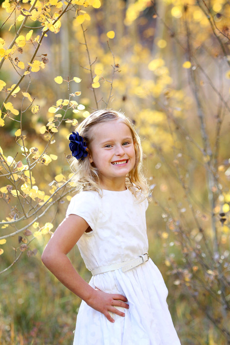 Fall in Frisco, Colorado. Colorado Kids Photographer