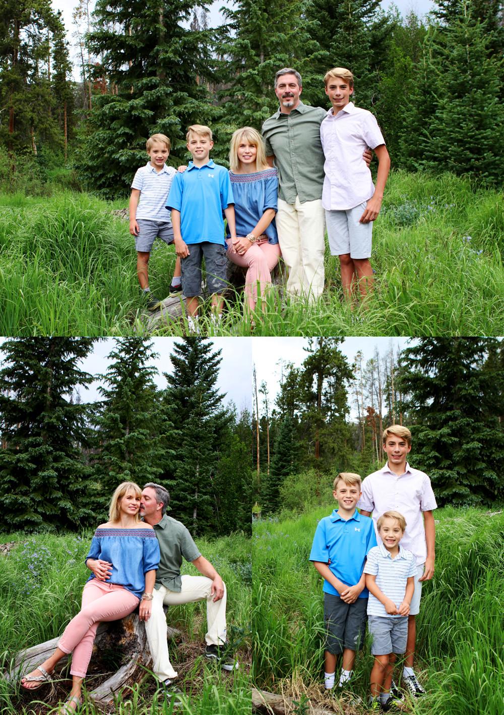 Breckenridge Colorado Family Reunion Photographer