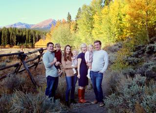 Rocky Mountain Fall || Breckenridge, CO. Family Photographer