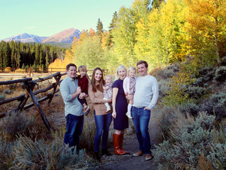 Rocky Mountain Fall || Breckenridge, CO. Family Photographer
