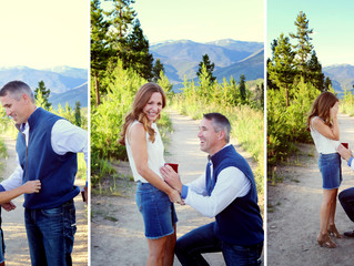 Rocky Mountain Engagement || Sapphire Point