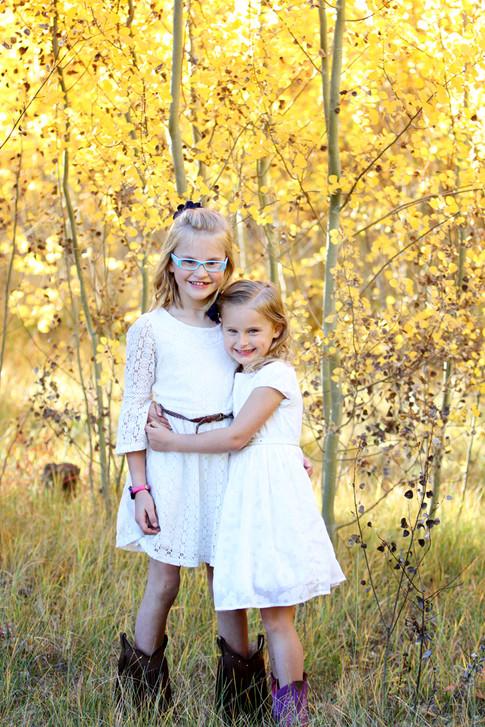Fall in Frisco, Colorado. Colorado Kids Photographer