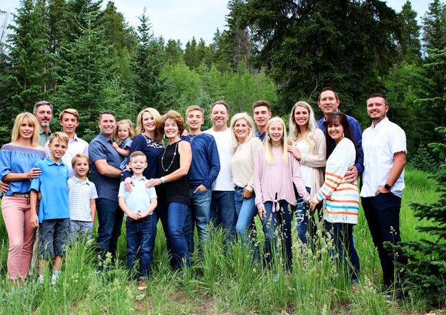 Texas comes to Colorado! Family reunion