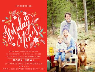 Holiday Mini-Sessions | Breckenridge, CO.