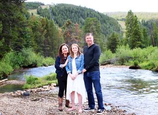 "The ""M"" Family | Keystone, CO. - Snake River"