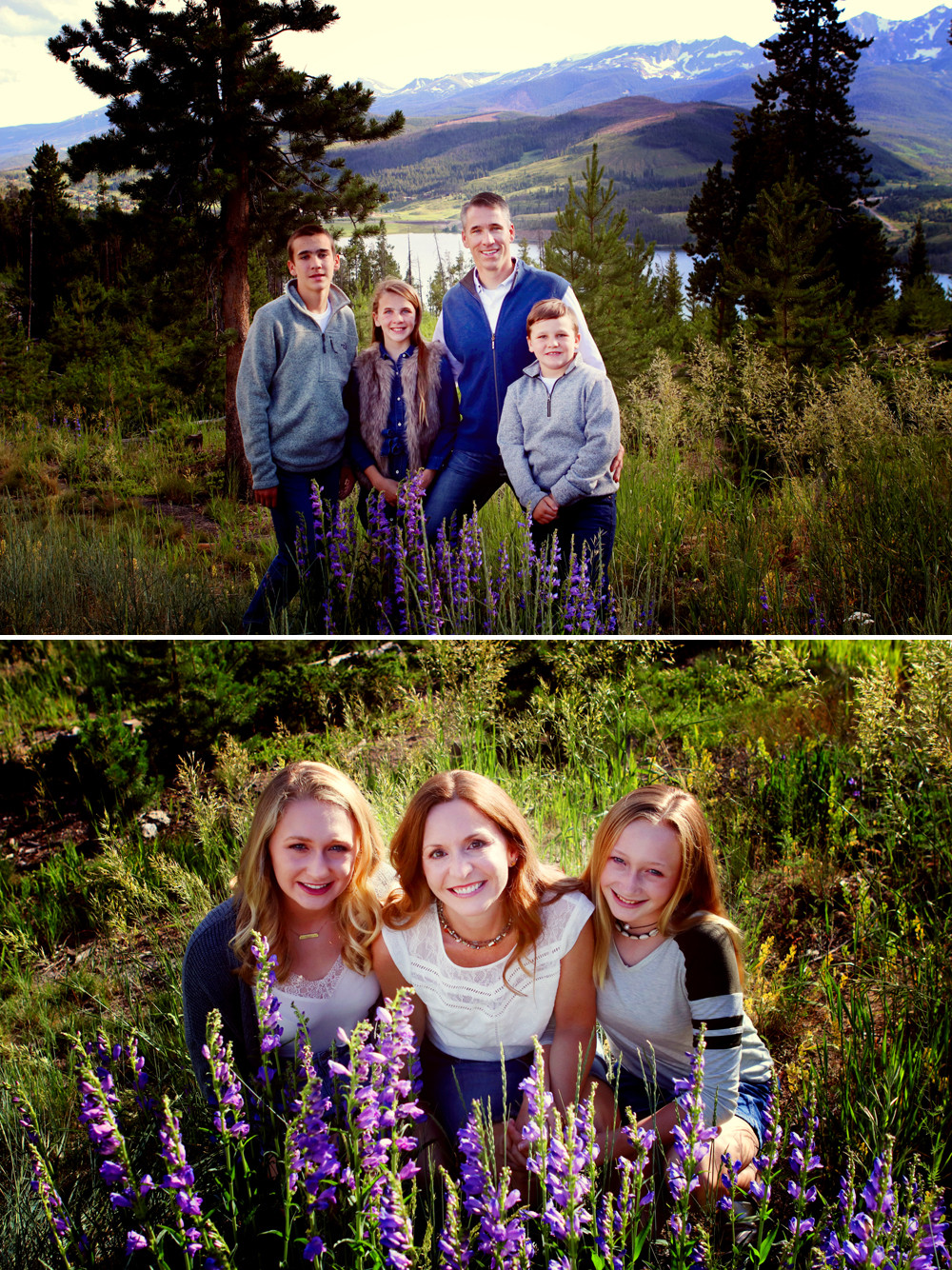 Sapphire Point Family Session