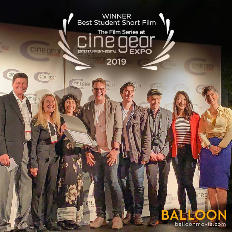 The Winning Team @CineGear