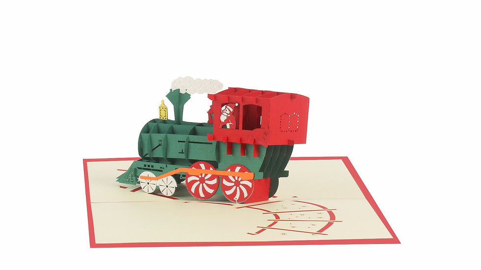 Santa North Pole Train