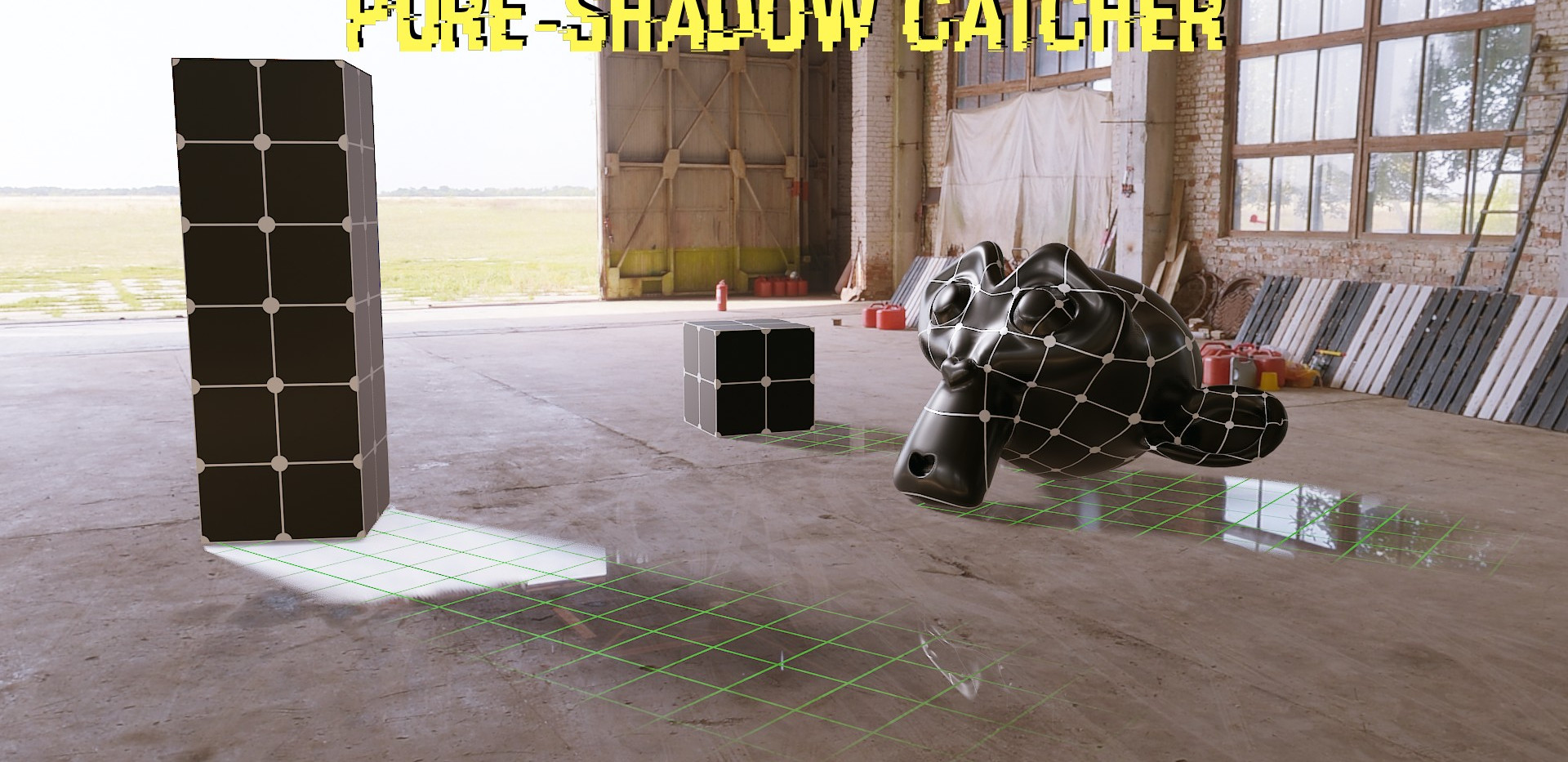 Pure-Shadow Catcher