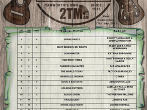 AUSTRALIAN COUNTRY MUSIC TOP 20 TRACKS | 27th May 2021