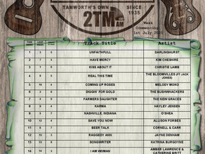 AUSTRALIAN COUNTRY MUSIC TOP 20 CHART |1st July 2021