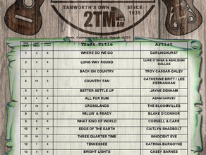 TOP 20 AUSTRALIAN COUNTRY MUSIC CHART | 11th March 2021