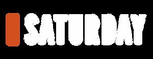 Saturday Logo_Full Colour Reverse-CMYK_F