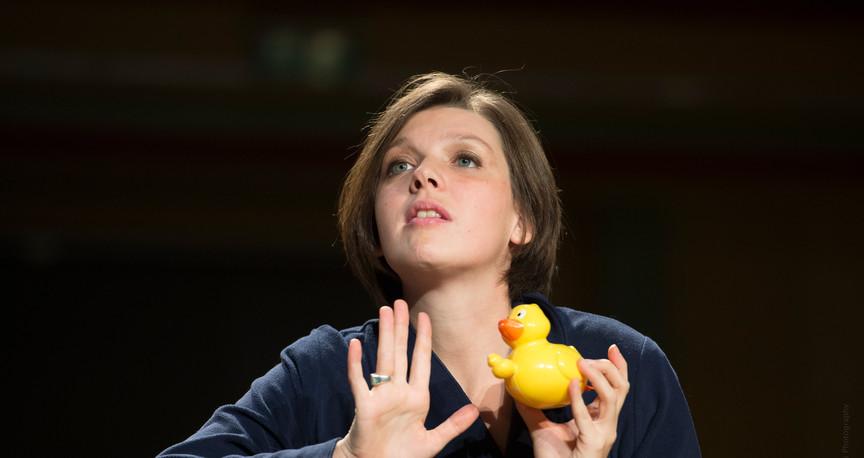 Schubert amoureux - Spectacle pour enfant de Sophie van der Stegen - Flagey 2016